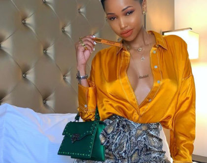 Huddah Monroe´s reaction after her mum calls her out for misleading women