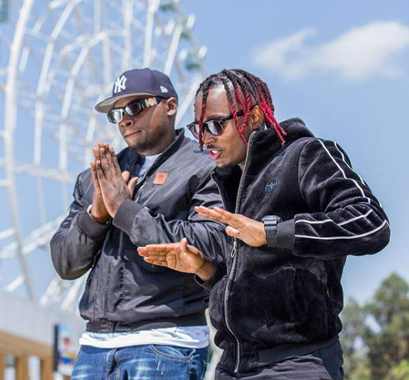 Khaligraph Jones and Hopekid; they have a new jam titled Testimony.