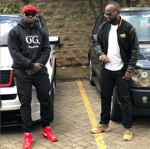 Khaligraph Jones and Lamaz Span