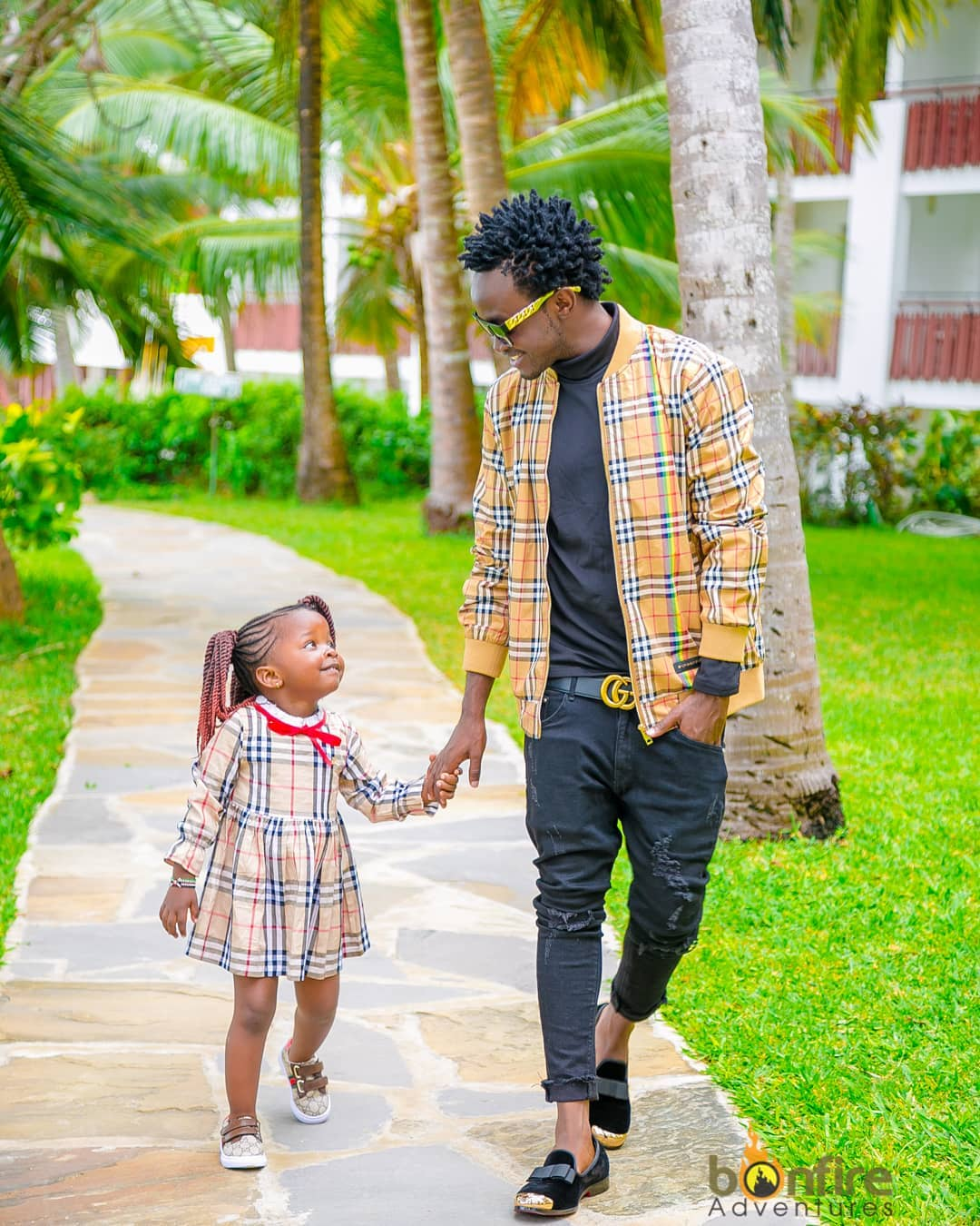 Adorable! Bahati showers his daughter with love as she celebrates 4th birthday