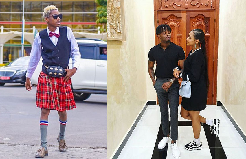 """Yes please!"" Eric Omondi set to take up the role of a 'godfather' to Tanasha and Diamond's baby boy"