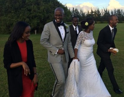 Janet Mbugua finally clears airs that she has been dumped by husband