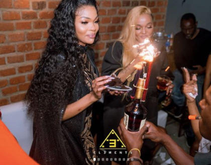 Wema Sepetu allegedly faints during her surprise birthday party, rushed to hospital