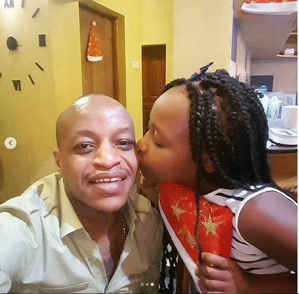 Daddy duties! CMB Prezzo hangs out with his daughter and celebrates her milestones