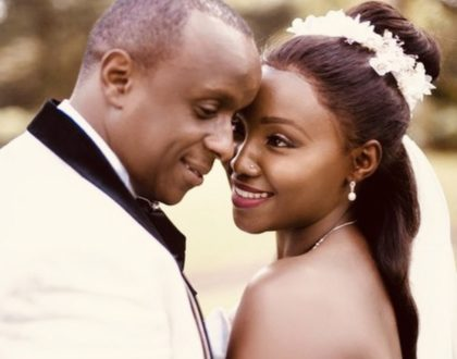 """You still chose me with all my flaws"" Pregnant Catherine Kamau moving message to hubby on their 2nd wedding anniversary"