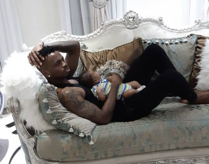 Diamond Platnumz youngest son's name finally revealed