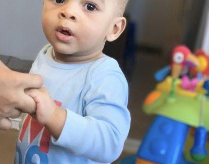 Alikiba's youngest son celebrates 1st birthday!