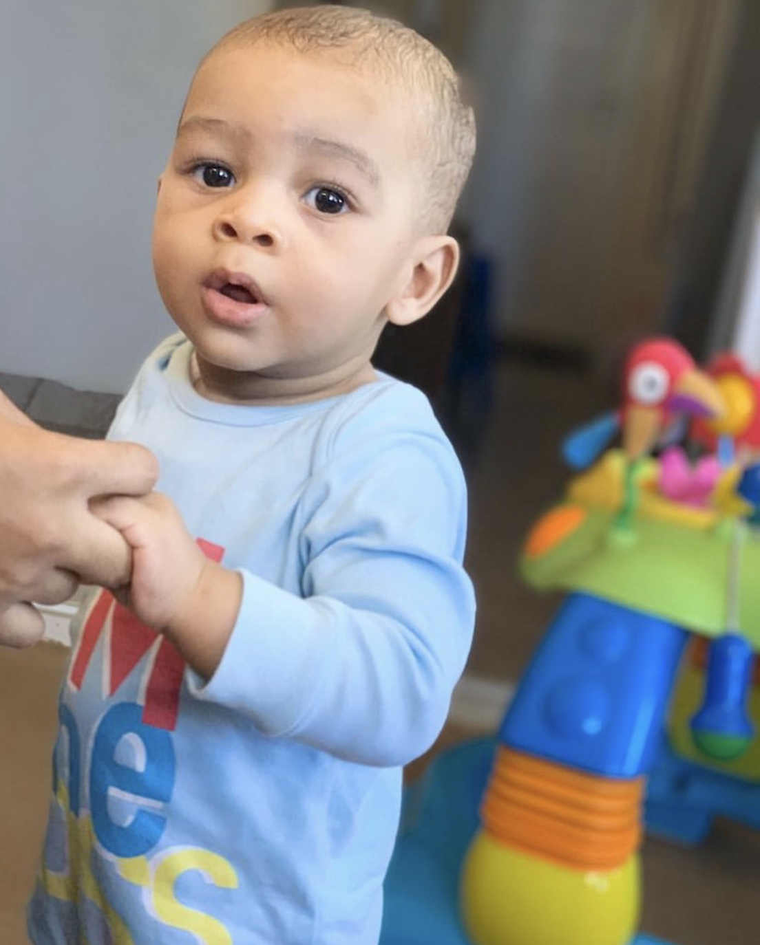 Alikiba's youngest son celebrates 1st birthday!