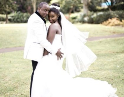 Phil's special message to his wife Catherine Kamau as they celebrate 2nd wedding anniversary