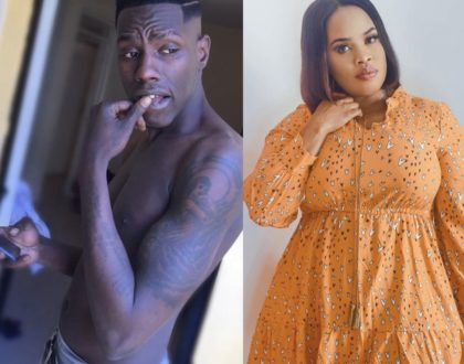 """That boy is not your biological son!"" Nairobi Diaries former actor now accuses Bridget Achieng of faking her pregnancy"