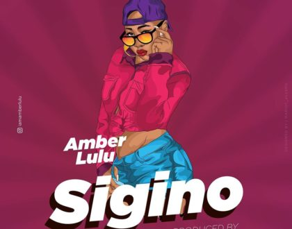 Amber Lulu features Mr. Lg in 'Sigino' and it is lit