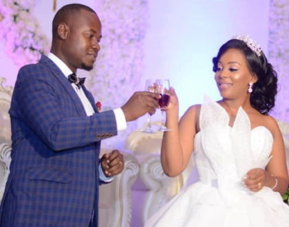 Nandy's lookalike sister weds the love of her life at colorful wedding