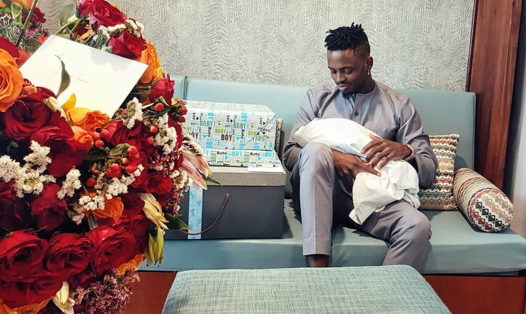 Diamond Platnumz showing son, Naseeb Junior love despite bitter break up with Tanasha Donna (Photos)