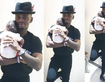 Awww! Diamond and his son engage in father-son bonding moments [screenshots]