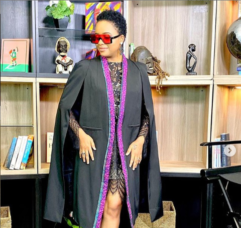 Singer Nandy alleged to have relocated into a swanky palatial mansion [photo]