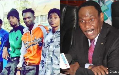 Ezekiel Mutua changes tactic on the arrest of Ethic Entertainment group