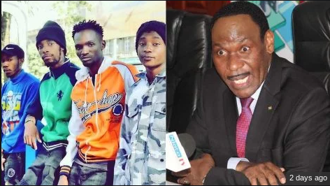Ezekiel Mutua changes tactic on the arrest of Ethic Entertainment group
