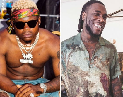 Harmonize´s message to Burna Boy after losing to him in the MTV EMA 2019 awards