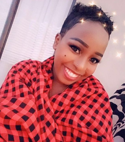 Saumu Mbuvi introduces her young family during a dinner date out