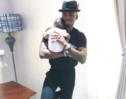 Watch as Diamond Platnumz dances to his son´s tune in hilarious video