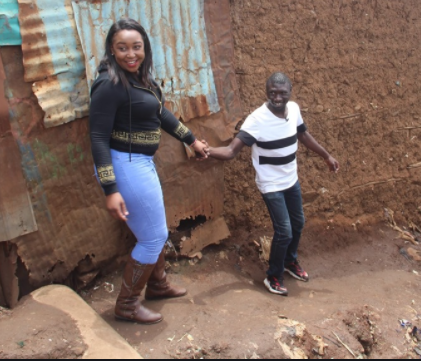 Betty Kyallo forced to respond after Kenyans ´married her off´ to Stivo Simple Boy