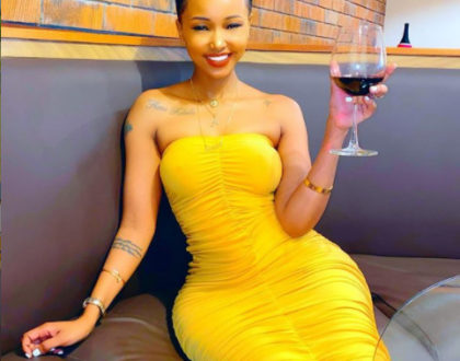 I can´t wait for my degree, so y´all stop saying I´m dumb - Huddah Monroe screams
