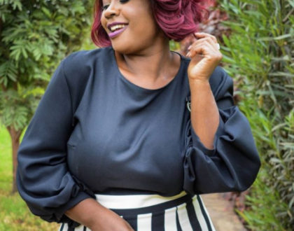 Finally!!! Kalekye Mumo excited after being discharged from hospital