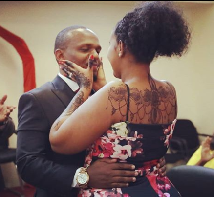 Love is a Beautiful Thing! Ben Kitili and wife, pour their hearts out to each other on their 1st wedding anniversary