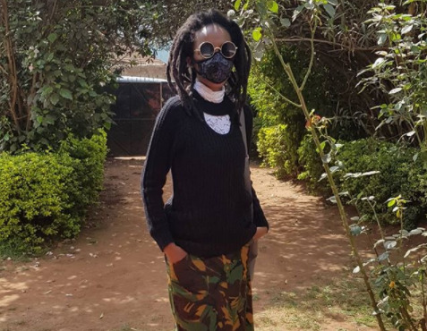 Why I always wear a face mask - Njambi Koikai clears the air
