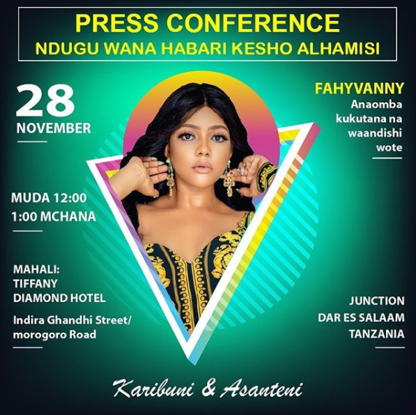 Fahyvanny calls for urgent press conference, leaves many with questions