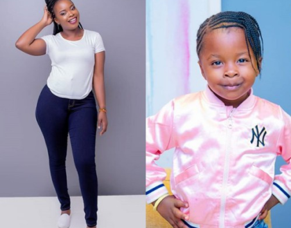 Yvette Obura pens tear-jerking letter to daughter, Mueni on her 4th birthday