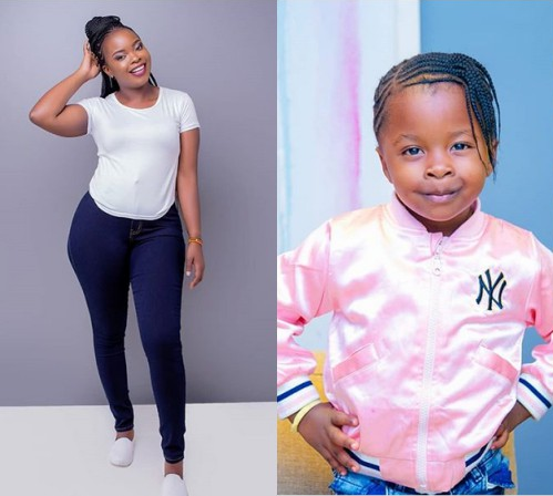 Yvette Obura pens tear-jerking letter to daughter, Mueni on her 4th birthday