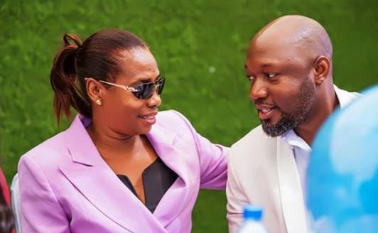 """""""Pia Wewe tafuta hela ndio arudi"""" Mama Dangote shares her husband's baby mama"""