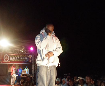 Ina uma lakini itabidi uzoe! Khaligraph Jones remembers being booed off stage