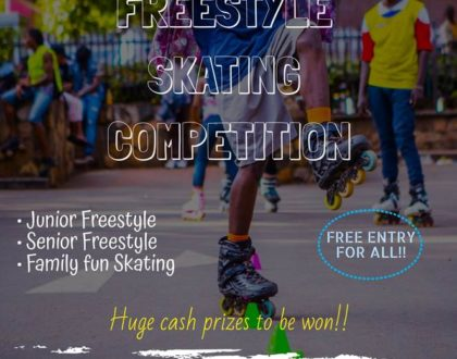 The 1st Edition of the Freestyle Slalom Skating Competition Is Here