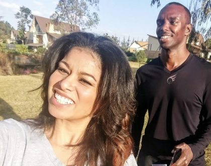 Julie Gichuru shares how she was left homeless after her parents divorced