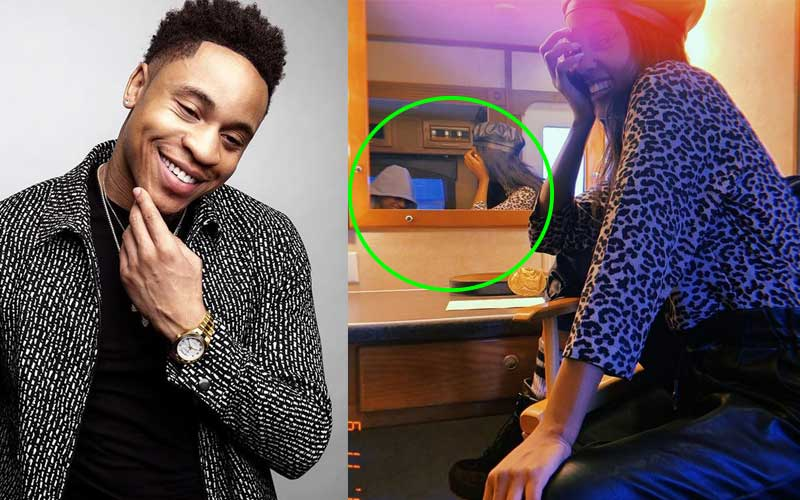 Vanessa Mdee and lover, Rotimi savor moments in each others´ arms