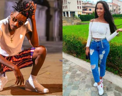 Eric Omondi confirms Chantal will be flying in for Christmas, leaves us more puzzled