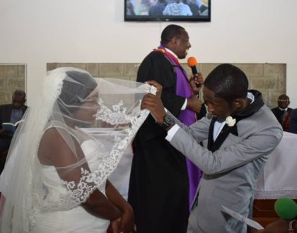 """Tujipatie miaka zingine kama 97 alafu kila mtu ajipe shugli"" Njugush's message to wife as they mark their 3rd wedding anniversary"