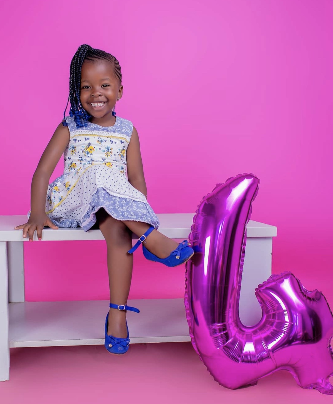 How Bahati's 1st born daughter celebrated her 4th birthday!