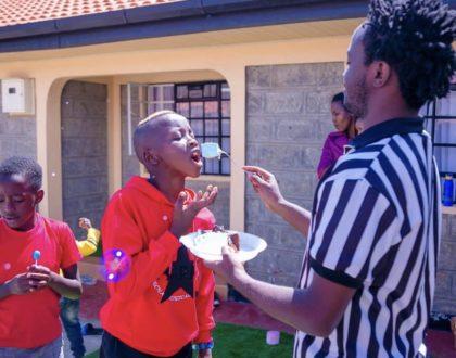 Bahati's eldest son celebrates birthday in style! (Photos)