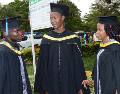 Three Co-op Bank Foundation students graduate at JKUAT with stellar performances
