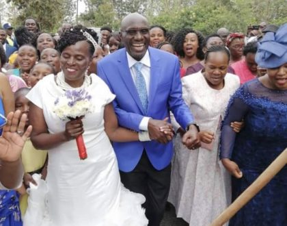 Radio host Fred Obachi Machoka weds the love of his life at a colorful wedding ceremony