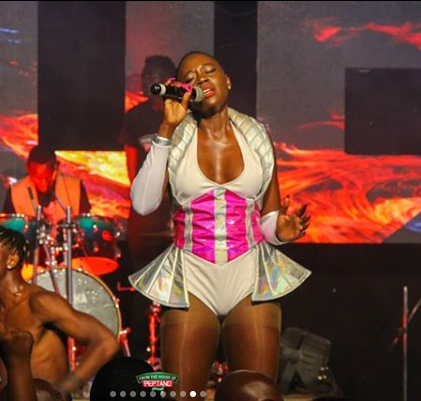 ¨Cheap drama!!!¨ Kenyans bash Akothee after she ´tactfully´ collapsed on stage at the Luo Night Festival [video]