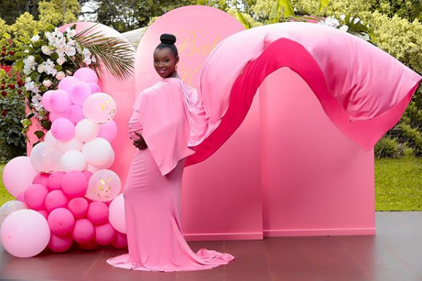 It´s a girl! How it all went down at Kate Actress´ luxurious gender reveal party [watch]