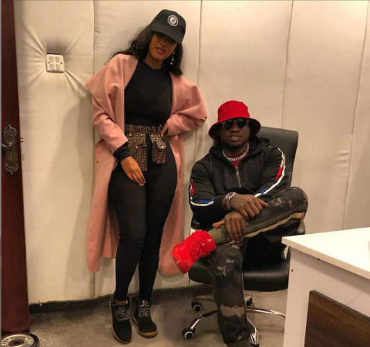 ¨2020 is gonna be lit!¨ Tanasha Donna and Khaligraph Jones now cooking a collabo