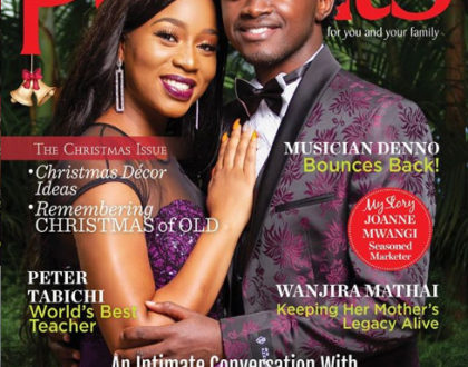 Diana Marua and her hubby, delightfully grace the cover of Parents Magazine 2019 Main Issue