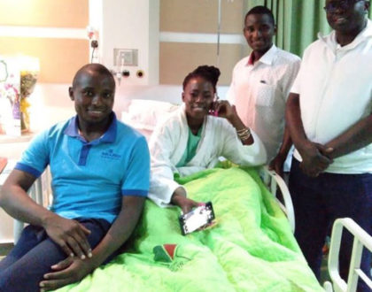 ¨Don´t get it twisted!¨ Akothee insists after her first baby daddy and lover, Jared visits her in hospital
