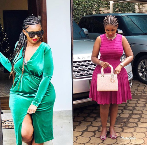 Anerlisa Muigai´s massive body transformation leaves tongues wagging [photos]