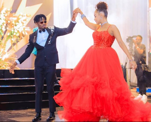 ¨We should pray that next year, I will also marry the girl of my dreams¨ Diamond admits